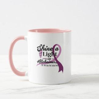 Light On Alzheimer's Awareness Support Gift Mug