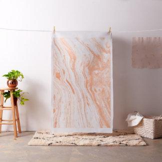 Light Orange spotted Marble Stone Fabric