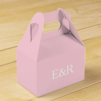 Light Pastel Pink Wedding Decorations Wedding Favour Boxes