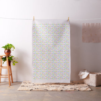 Light pastel watercolor dots fabric