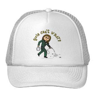 Light Pest Control Girl Trucker Hat