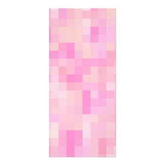 Light Pink Abstract Pattern Rack Card