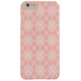 Light Pink Argyle iPhone 6 Plus Case