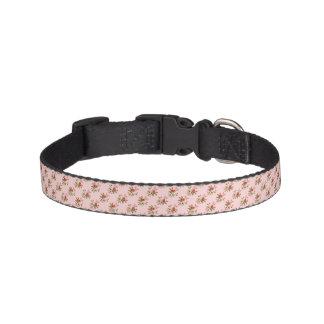 Light Pink Floral Dog Collar