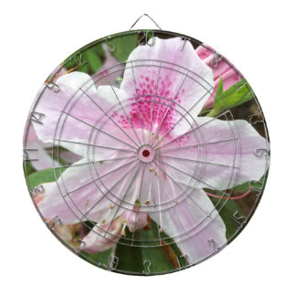 Light Pink Flower Dartboard