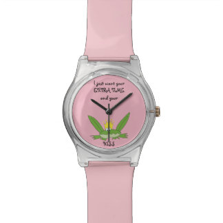 Light Pink Frog Kiss Funny Prince Cute Love Song Watch