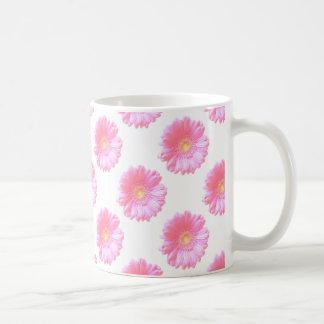 Light pink gerbera daisy coffee mug