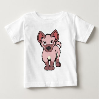 Light Pink Hyena Cub Baby T-Shirt