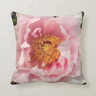 Light Pink Peony Pillow