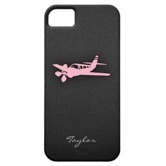 Light Pink Plane iPhone 5 Case