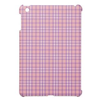 Light Pink Purple Plaid Pattern iPad Speck Case Case For The iPad Mini