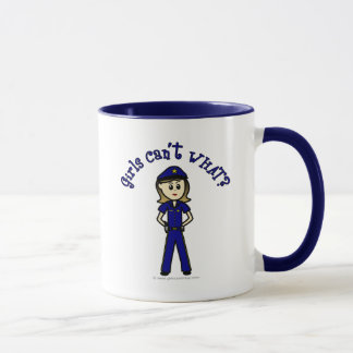 Light Police Officer Mug