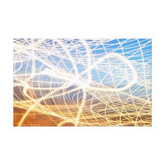 Light Pulses Canvas Print