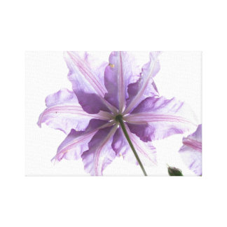 light purple flower art print