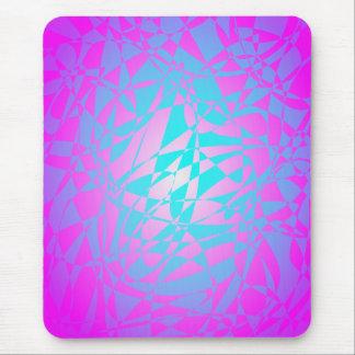 Light Purple Shining Silk Mousepad