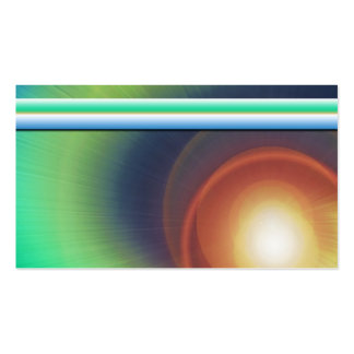 Light Rays Business Card Template