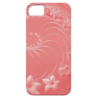 Light Red Abstract Flowers iPhone 5 Cover