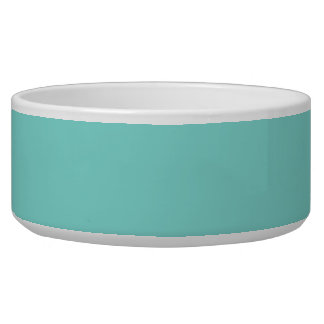 Light Robyn Blue Robin Egg Blue Color Background Dog Bowls