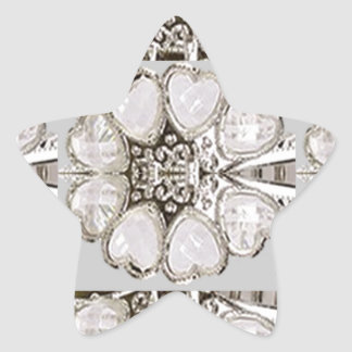 Light Shade Imitation Jewel Pattern HOLIDAY GIFTS Stickers