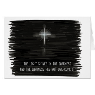 Light Shines in the Darkness Note Card