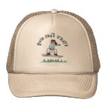 Light Snowboarder Trucker Hats