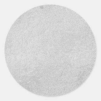LIGHT Source - Black n White Sparkle Wheel Classic Round Sticker