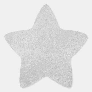 LIGHT Source - Black n White Sparkle Wheel Star Sticker