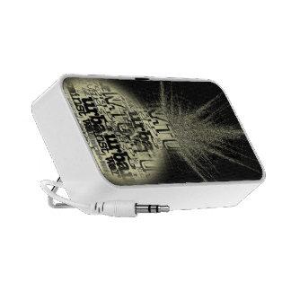 Light iPod Speaker
