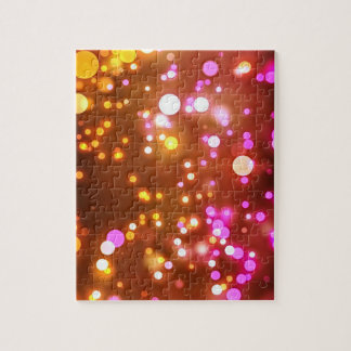 Light spots jigsaw jigsaw puzzle