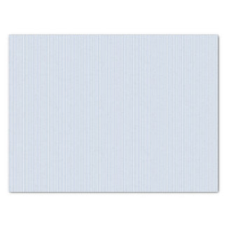 Light Steel Blue Stripes Tissue Paper