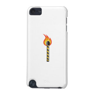 Light Striped Match Stick On Fire Retro iPod Touch (5th Generation) Case