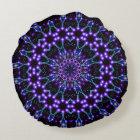 Light Structures Mandala Round Cushion