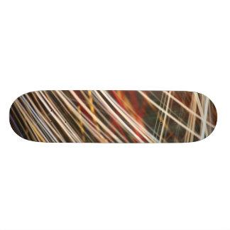 Light swirls skate skate boards