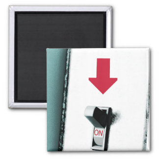 Light Switch Square Magnet