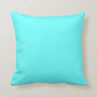 light teal blue  pillow