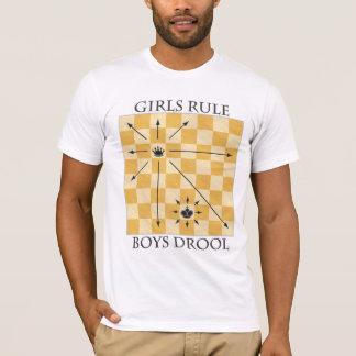 Light Tee - Girls Rule, Boys Drool