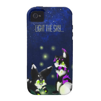 Light the sky vibe iPhone 4 covers