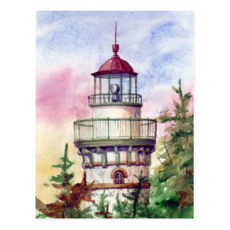 Light The Way Lighthouse Postcard