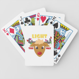 Light The Way Poker Cards