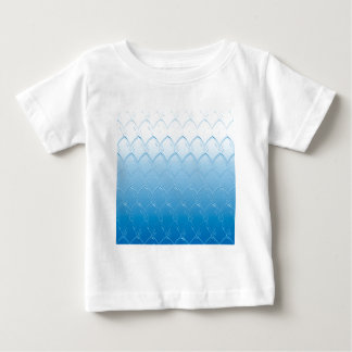 Light to Dark Blue Scales Baby T-Shirt