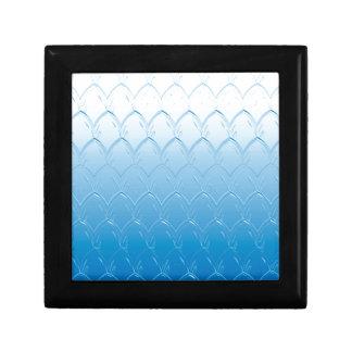 Light to Dark Blue Scales Gift Box