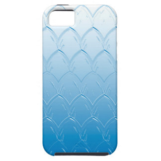 Light to Dark Blue Scales iPhone 5 Cases