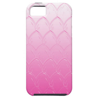 Light to Dark Pink Scales Case For The iPhone 5