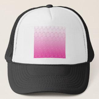 Light to Dark Pink Scales Trucker Hat