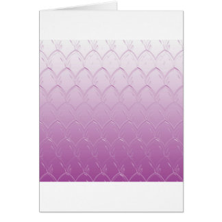 Light to Dark Purple Scales Card
