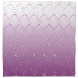 Light to Dark Purple Scales Napkin
