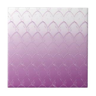 Light to Dark Purple Scales Tile