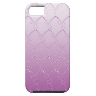Light to Dark Purple Scales Tough iPhone 5 Case