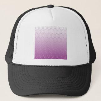 Light to Dark Purple Scales Trucker Hat