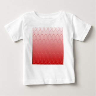 Light to Dark Red Scales Baby T-Shirt